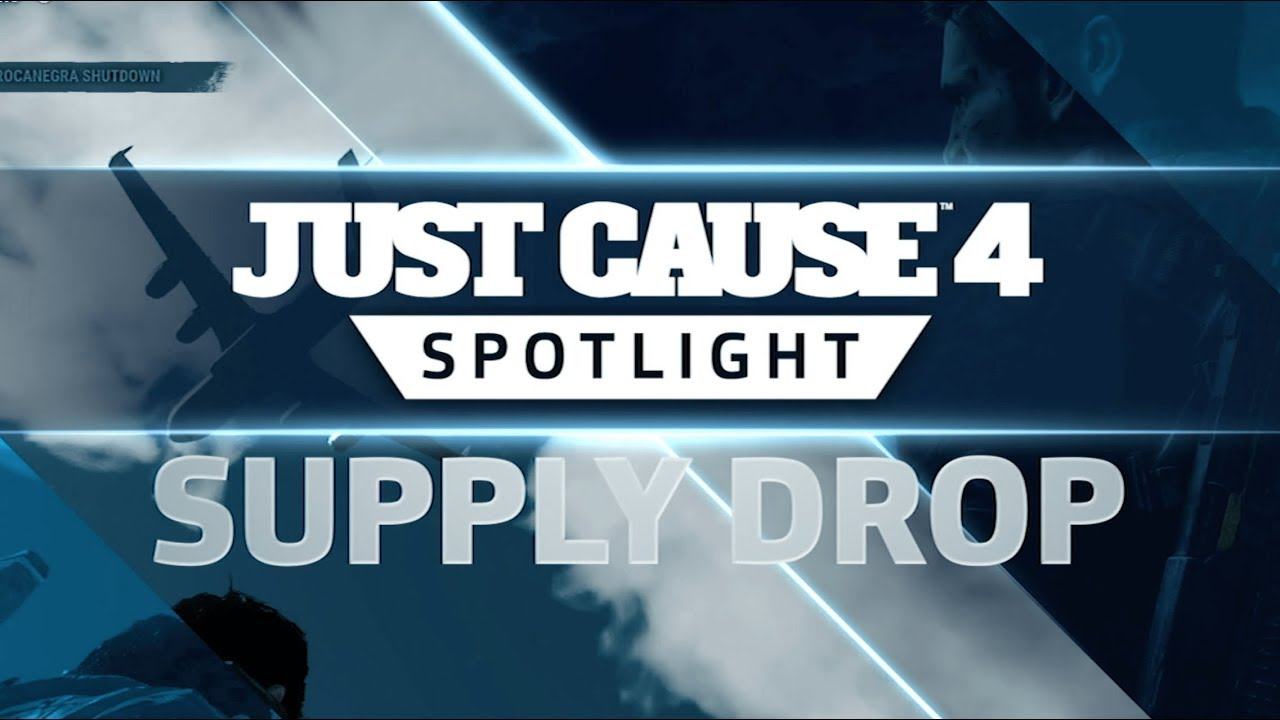 Just Cause 4 Spotlight Supply Drop Youtube