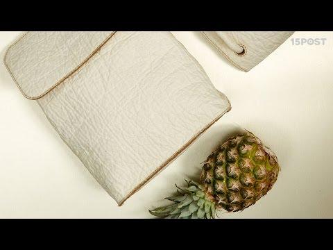 Esta alternativa al cuero esta hecha con hojas de piña - 15 POST