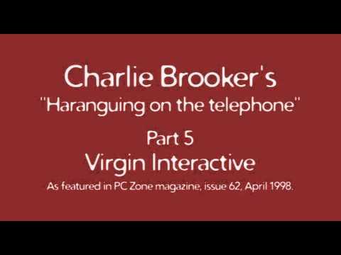 Charlie Brooker's Haranguing On The Telephone, Part 5 - Virgin