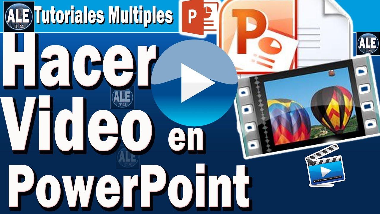 Pin En Diapositivas A Video