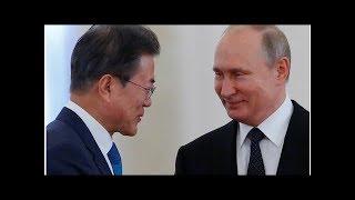 News Putin, Moon agree that Trump-Kim summit to help denuclearization