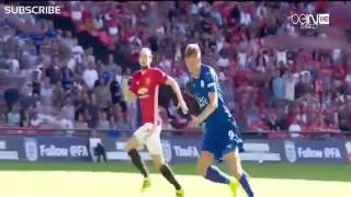 Leicester City Vs Manchester United 1-2 All Goals & Highlights 2016