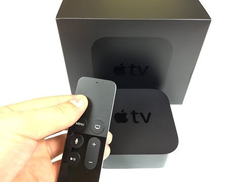 Apple TV 4th Generation Unboxing