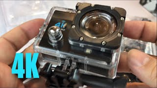 4K Waterproof Sport Action Camera Camcorder with Wifi by Homkm review