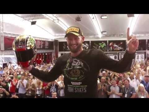Kawasaki - Tom Sykes, World Superbike Champion 2013