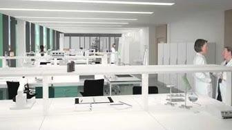 Biomedicum - Akademiska Hus builds super lab at Solna Campus