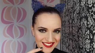Trucco Halloween Catwoman.Trucco Per Carnevale