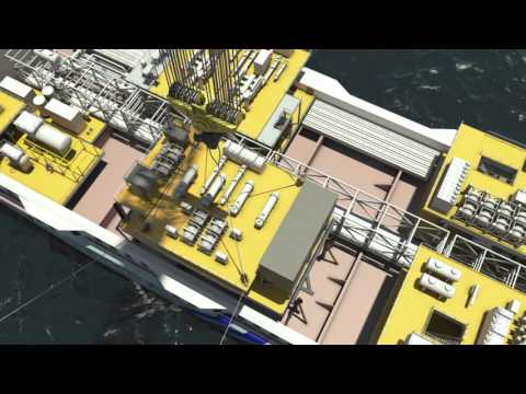 FPSO installation Animation