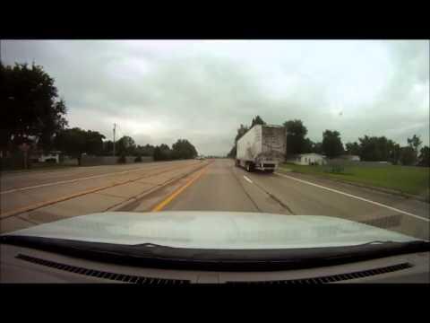 US Route 51 Bloomington to Forsyth Illinois 7.31.2013