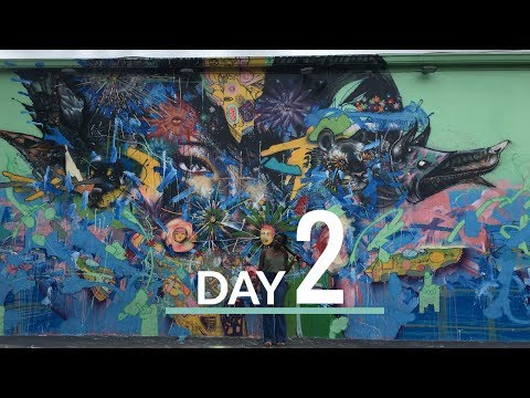 Travel Vlog: Miami Vacation Part Two | Wynwood Walls, Cuban Food & VOUS Conference | D & E