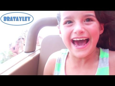 Riding Expedition Everest! Disney's Animal Kingdom (WK 133.4) | Bratayley
