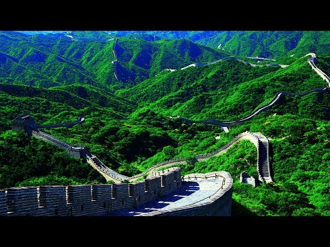 4K-Amazing Great Wall Of China And Beautiful Place To See