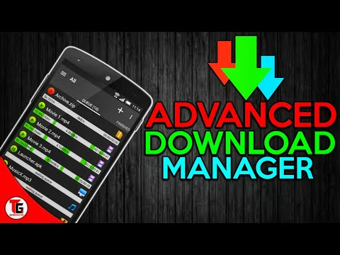 How To Use Advanced Download Manager Android