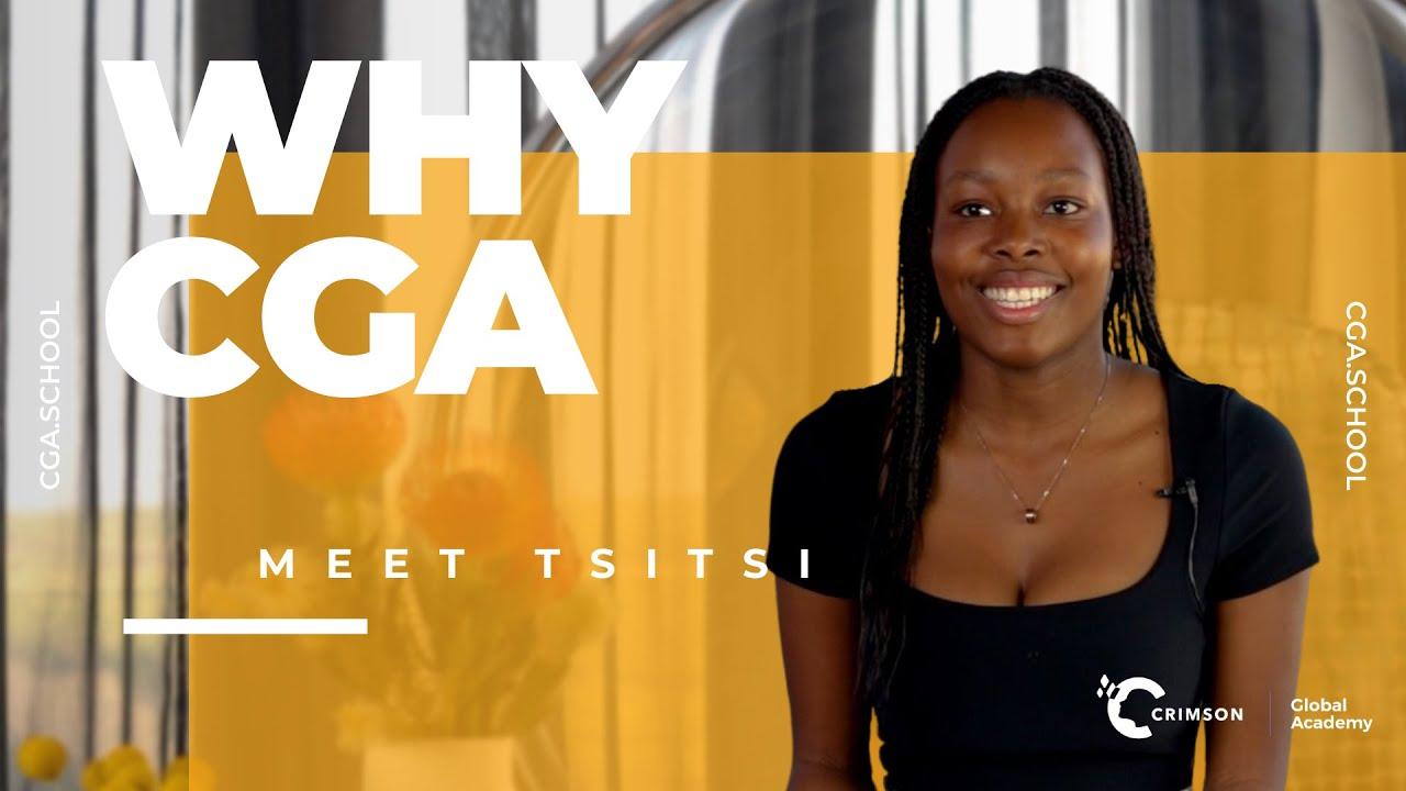 Why CGA? | Meet Crimson Global Academy Student Tsitsi