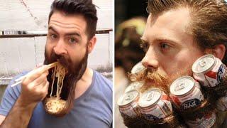 Самые смешные и странные бороды и усы в мире