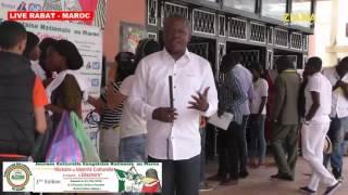LIVE RABAT 2016. Journée culturelle des congolais du Maroc le 21 mai 2016