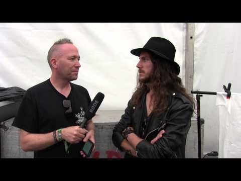 Interview with Eric Rivers from H.E.A.T - Download Festival 2015
