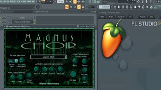 FL Studio: Changing Presets In Syntheway Magnus Choir VSTi (SATB: Soprano, Alto, Tenor, Bass)