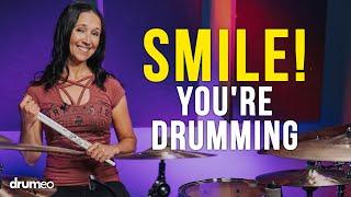 Smile Youre Drumming (Emmanuelle Caplette)
