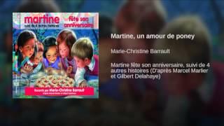 Martine, un amour de poney