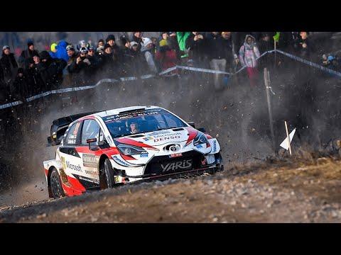 ELFYN EVANS LEADS DAY 2 - Rally Sweden 2020