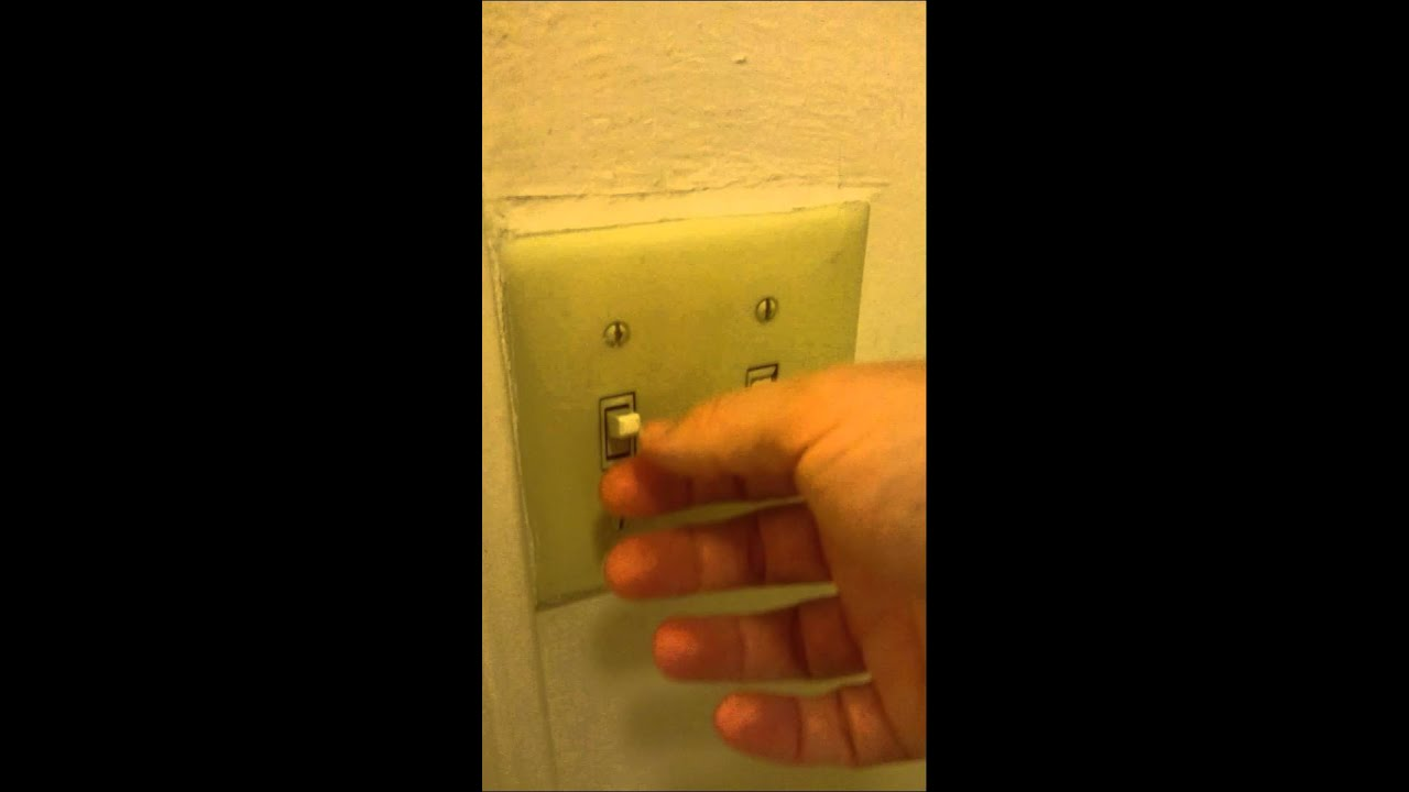 American light switches. - YouTube