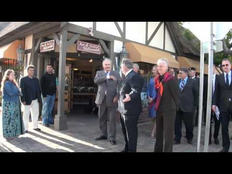 His Royal Highness, Henrik, The Prince Consort of Solvang visits Solvang
