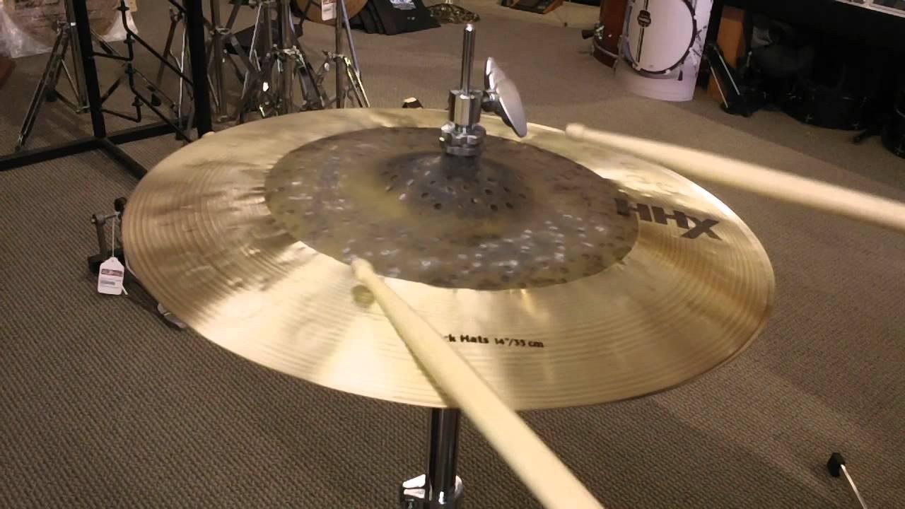sabian hhx click hi hat cymbals 14 youtube. Black Bedroom Furniture Sets. Home Design Ideas