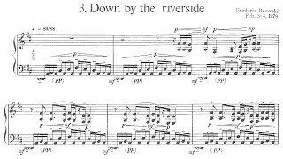 Rzewski - Down by the Riverside - No.3 from Four North American Ballads