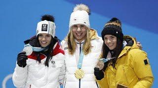 Czech Ester Ledecka overtakes full-time skiers on Saturday in the women