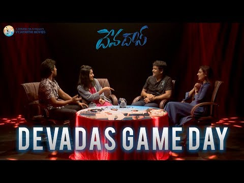 Devadas Game Day Video #Devadas   Akkineni Nagarjuna, Nani, Rashmika Mandanna, Aakanksha Singh