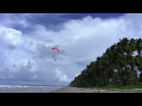 Paragliding At Manzanilla Trinidad and Tobago