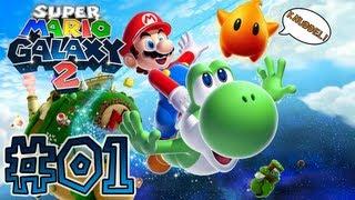 Lu und der Nephias in Super Mario Galaxy 2 #01 - Let the knuddel begin!