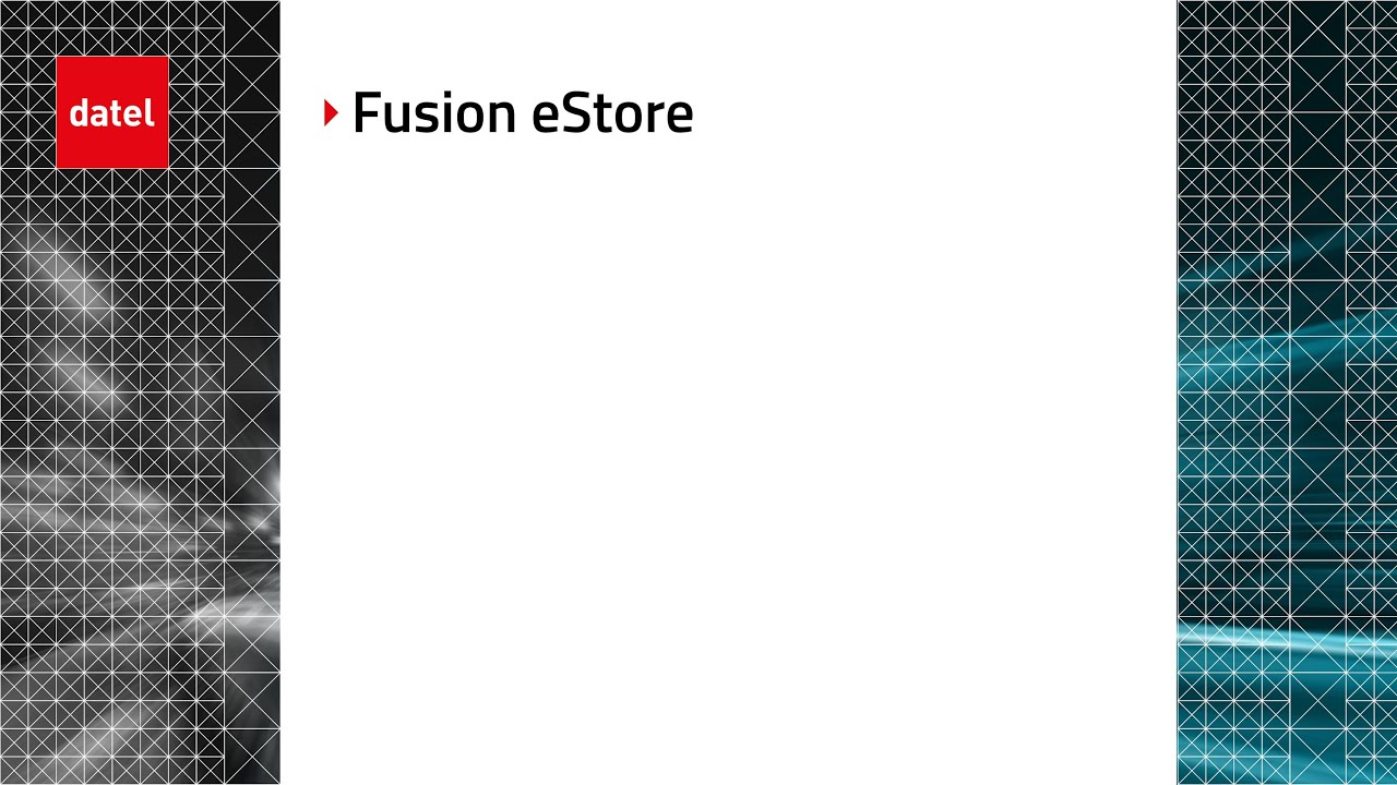 Fusion eStore Demo - 7 min - YouTube