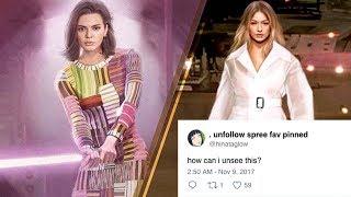 The Internet TROLLS Kendall Jenner & Gigi Hadid Over Cringey Star Wars Photoshoot