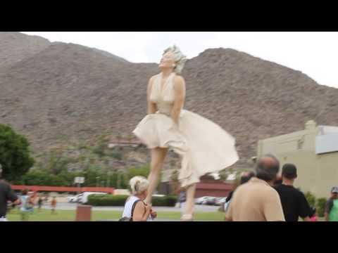 Marilyn Monroe in Downtown Palm Springs