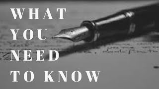 Story: The FIRST Thing You Need to Know Before You Start Writing