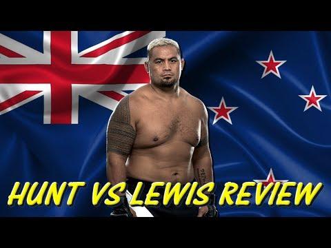 UFC FIGHT NIGHT | HUNT VS LEWIS