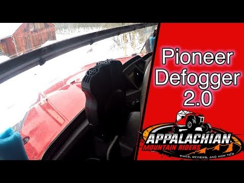 Honda Pioneer 500 Windshield Defogger 2.0