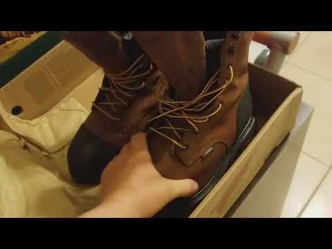 Red Wings vs. Danner work boots.