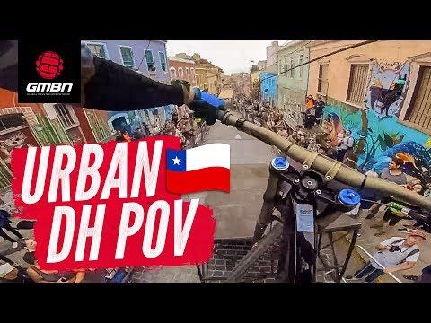 Blake's Urban DH POV   Racing The Valparaíso Cerro Abajo Urban Downhill להורדה