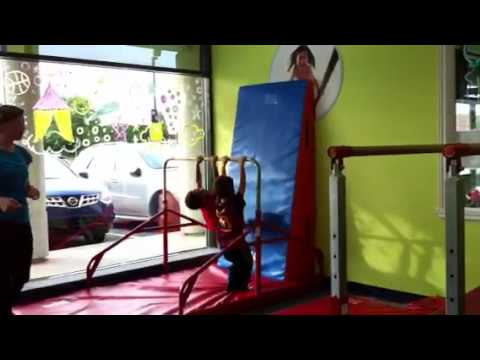 Zacharie Cloutier au gym 2 de 2