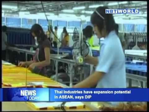 Thai industries have expansion potential in ASEAN, says DIP