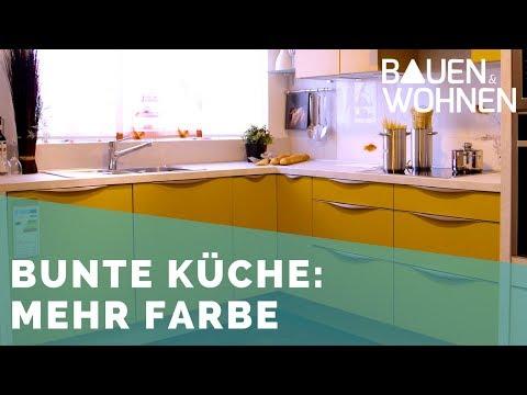 Küchen Trends: Mut zur Farbe