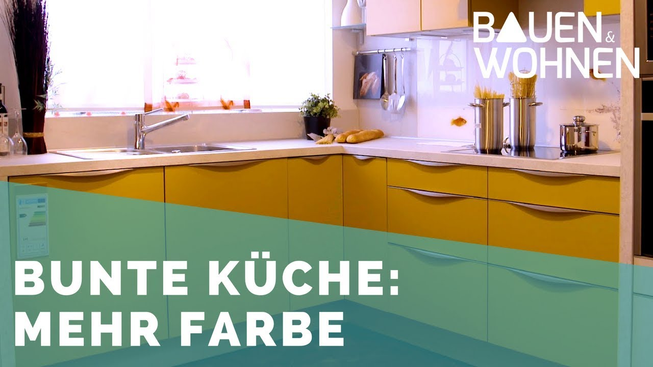 Küchen Trends: Mut zur Farbe - YouTube