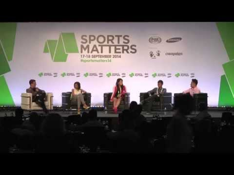 Panel: Sports in the Millennial Age @ Sports Matters 2014
