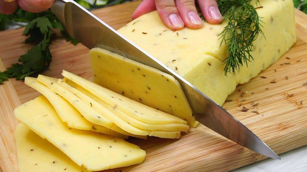 Хватит покупать в магазине! Вкуснейший твердый Сыр за 30 минут! Натуральный
