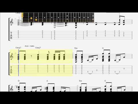 Chapman, Tracy   For My Lover GUITAR TAB