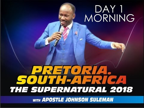 The Supernatural, Pretoria, South Africa - Day 1 Morning