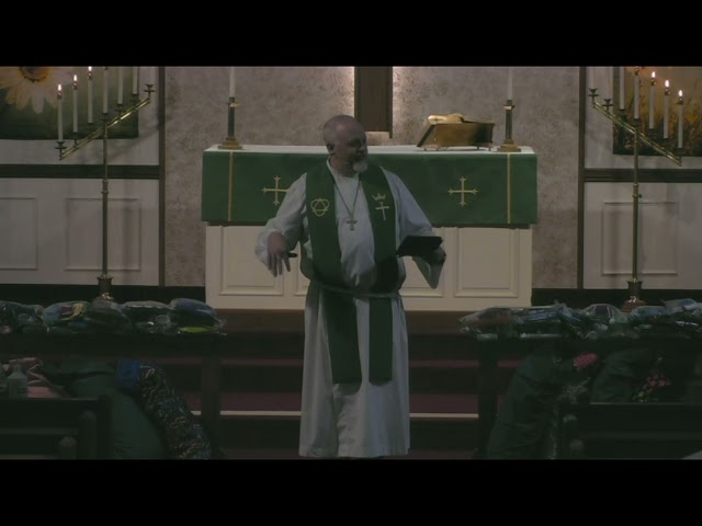 St  Trinity Ev  Lutheran Church Service September 12, 2021
